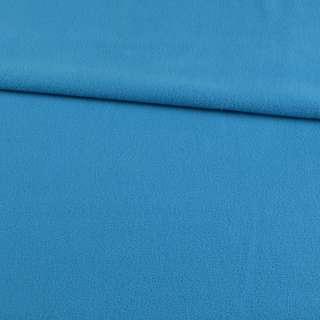 Флис голубой яркий ш.165