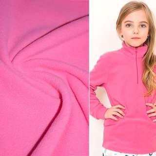 фліс яскраво-рожевий ш.160