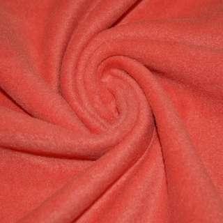Флис кораллово красный ш.170