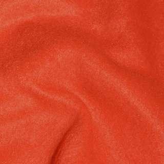 Флис красно оранжевый ш.165