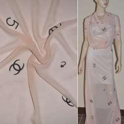 Шифон диллон бледно-розовый CHANEL №5 ш.150