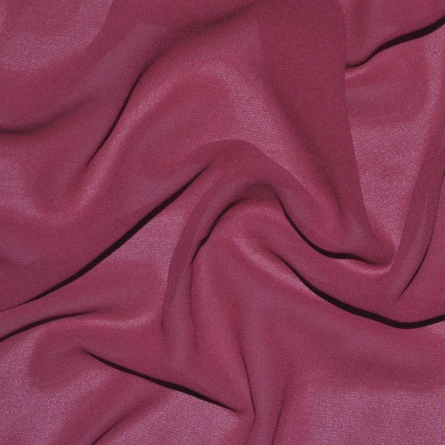 Креп-шифон стрейч вишнево-розовый ш.150