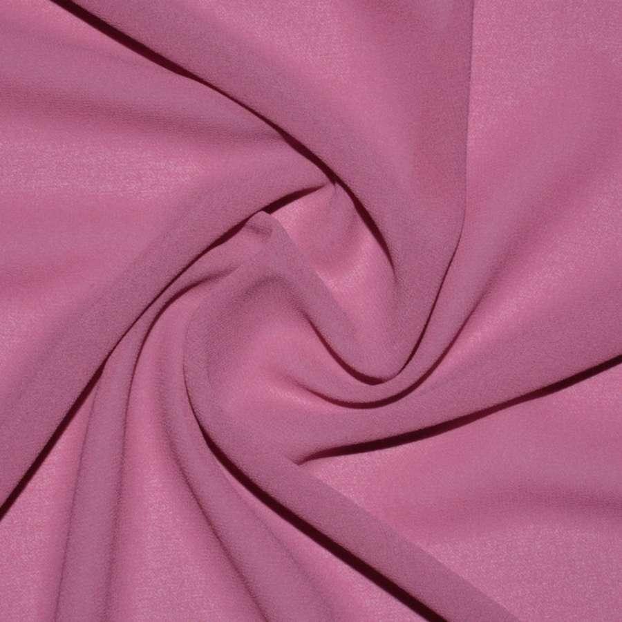 Креп-шифон стрейч розово-сиреневый (оттенок) ш.150