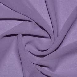 Креп-шифон стрейч фіолетово-сірий ш.150
