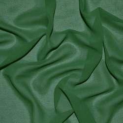 Креп-шифон стрейч зеленый темный ш.150