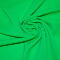 Шифон стрейч зеленый яркий ш.150