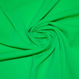 Стрейч шифон ярко зеленый ш.150