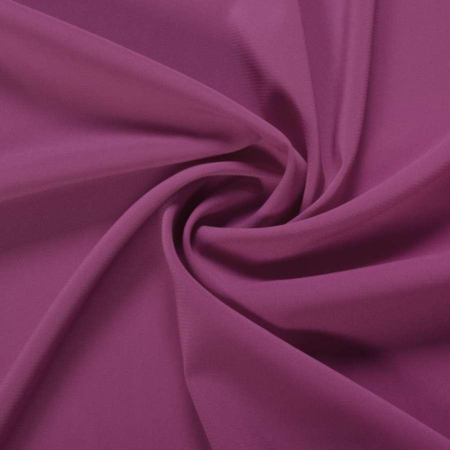 Шифон стрейч фиолетово-баклажанный ш.150