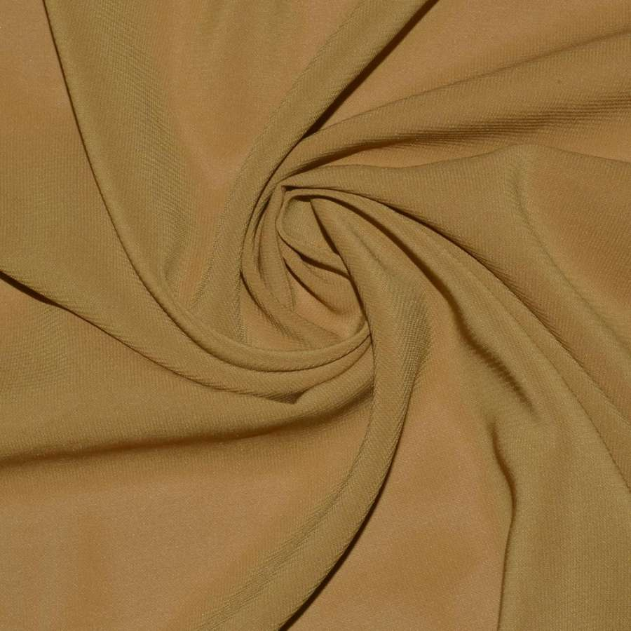Шифон стрейч бежево-коричневый ш.150