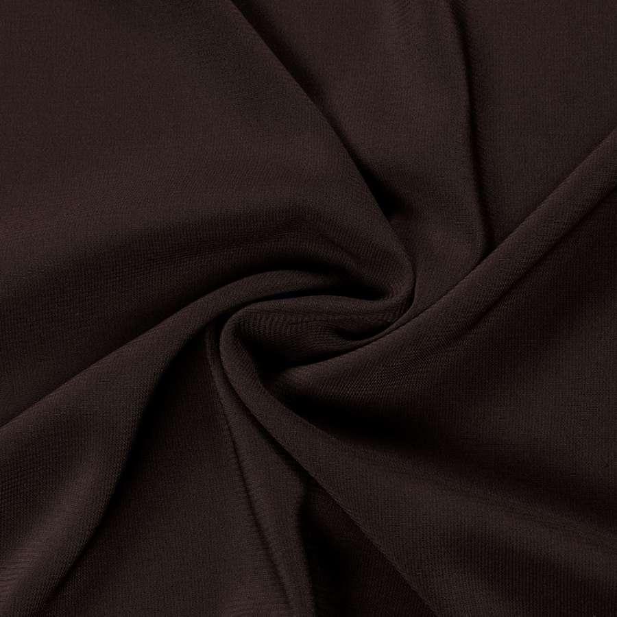 Шифон стрейч коричневий темний ш.150