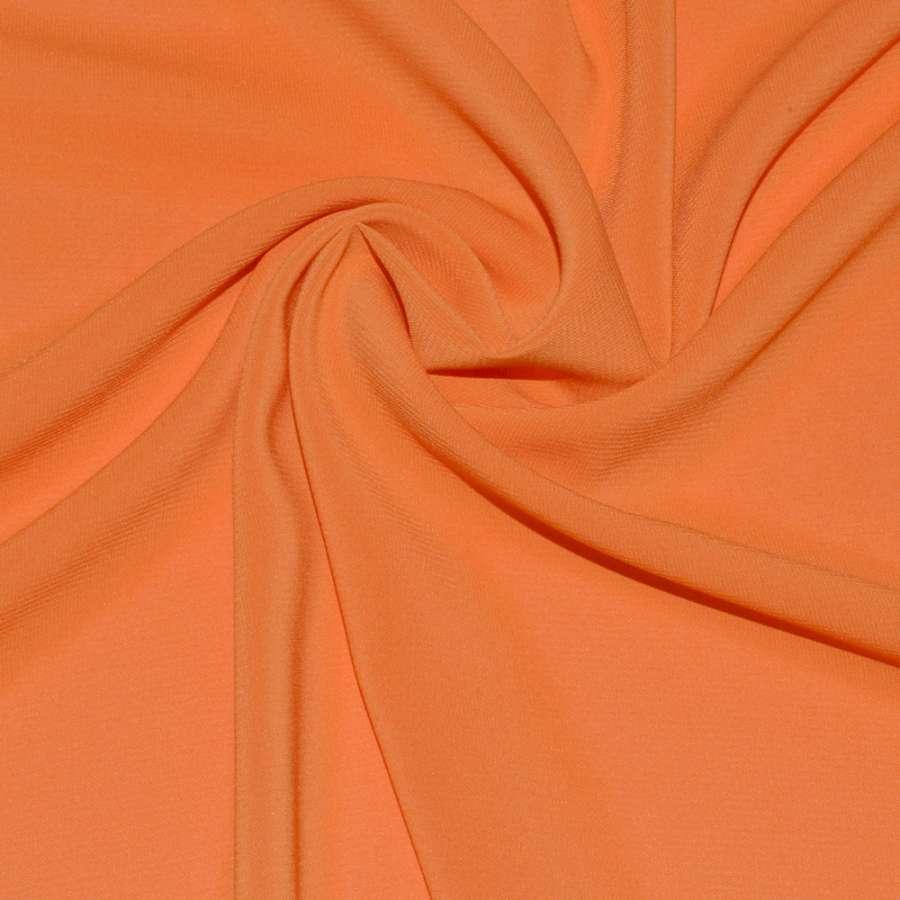 Шифон стрейч оранжевый ш.150