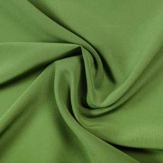 Стрейч шифон зеленый ш.150