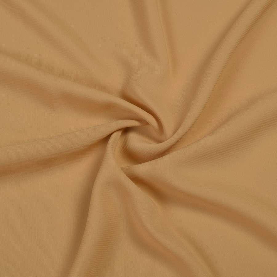 Шифон стрейч бежево-желтый ш.150