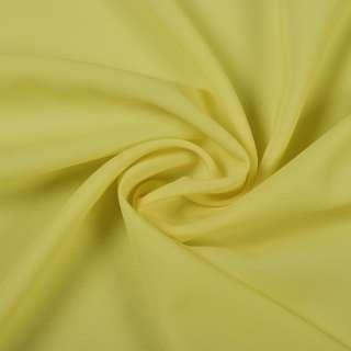 Шифон стрейч жовто-лимонний ш.150