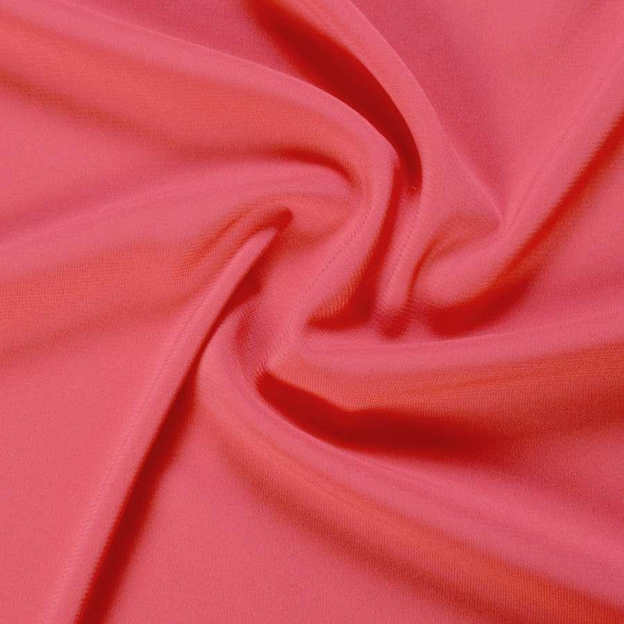Шифон стрейч розово-оранжевый ш.150