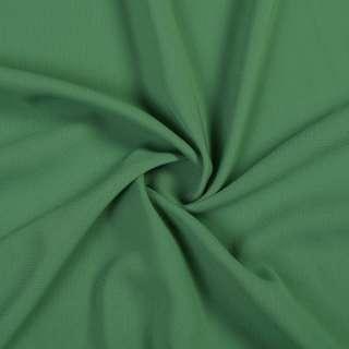 Шифон стрейч зелений з сірим відтінком ш.150