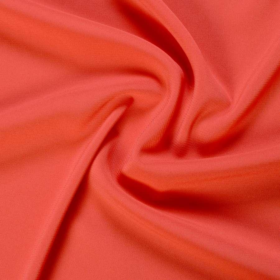 Шифон стрейч кораллово-красный ш.150