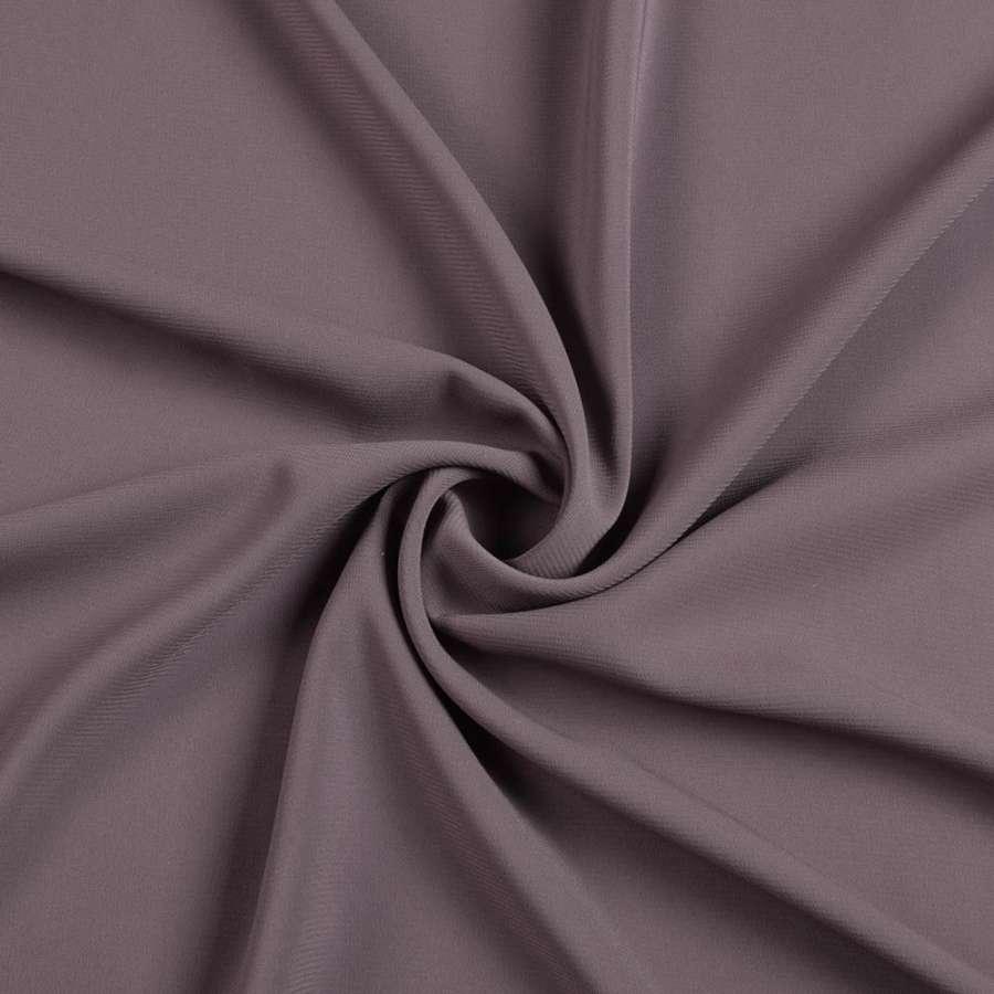 Шифон стрейч серо-фиолетовый ш.150