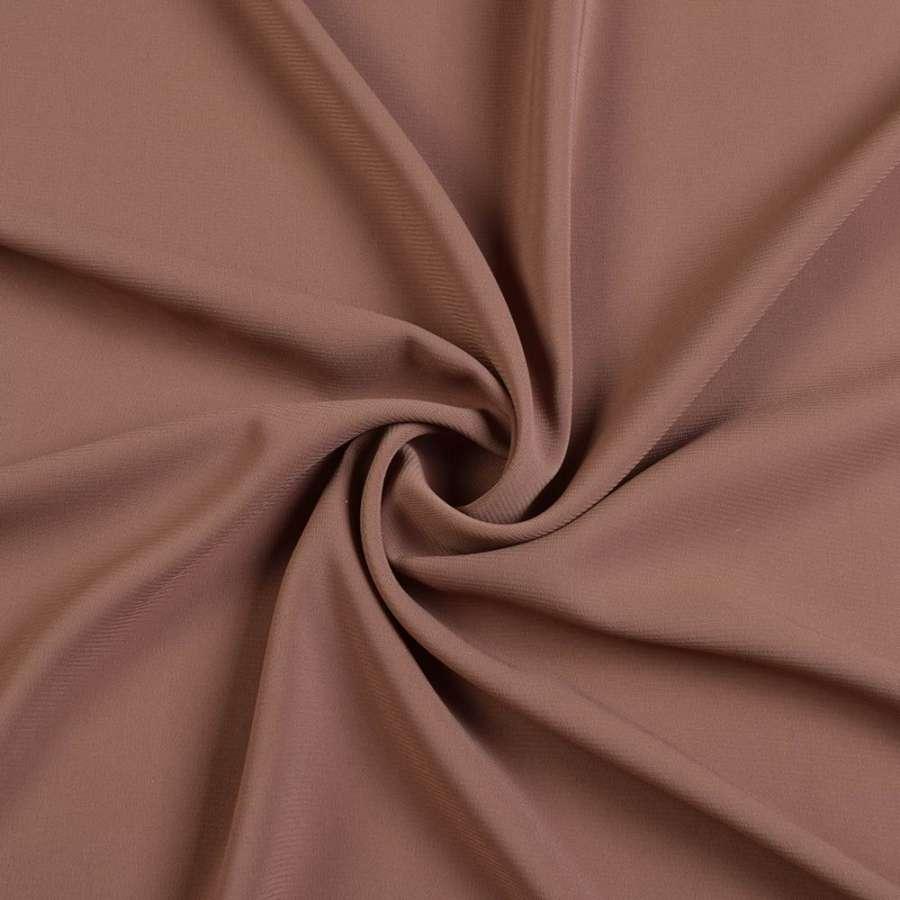 Шифон стрейч шоколадный ш.150