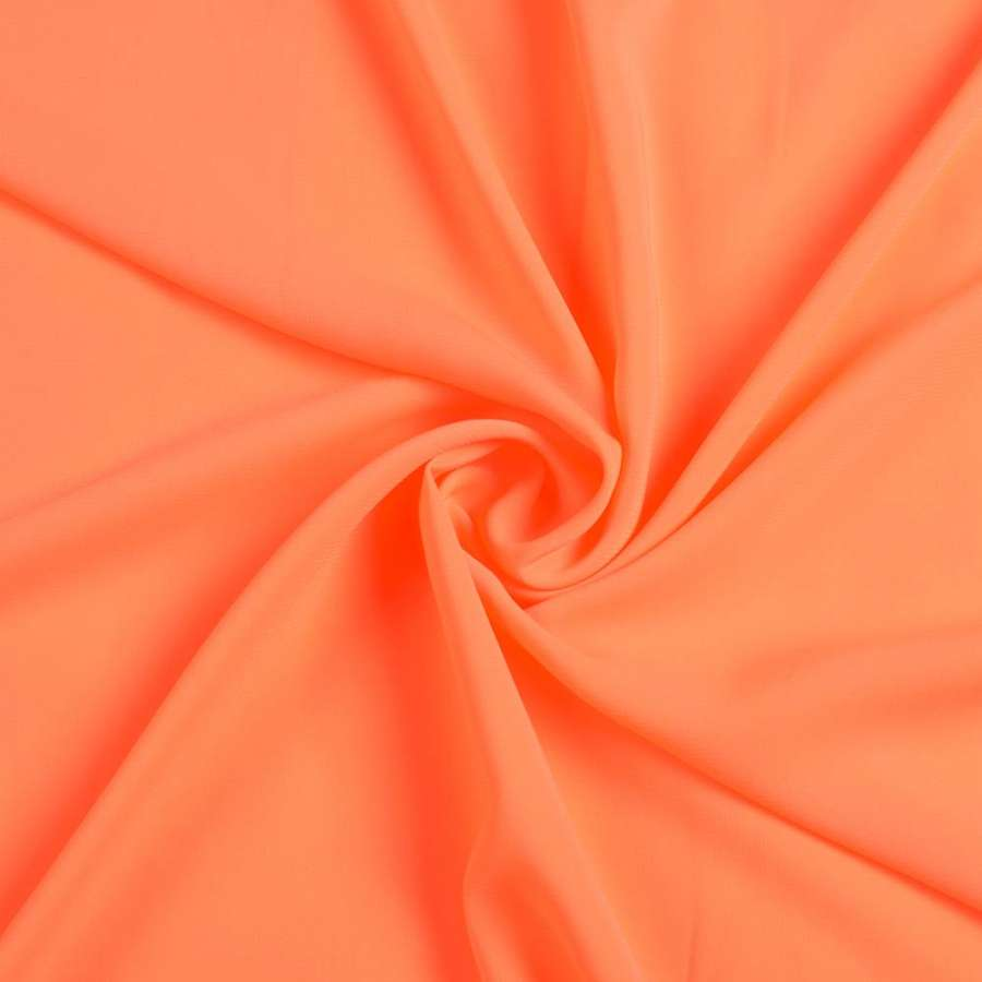 Шифон стрейч оранжевый (ультра) ш.150