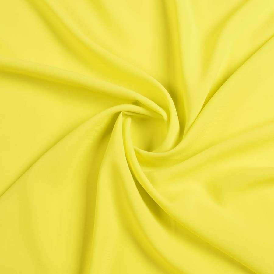 Шифон стрейч лимонный ш.150