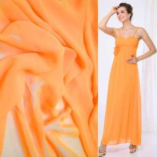 Шифон оранжевый ш.150