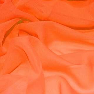 шифон оранжевый насыщенный ш.150