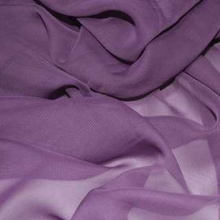 Шифон фиолетово-сиреневый ш.150