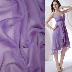 Шифон фиолетовый светлый ш.150
