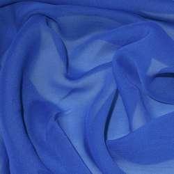 Шифон синий светлый ш.150