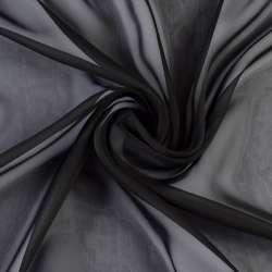 Шифон Діллон чорний ш.150