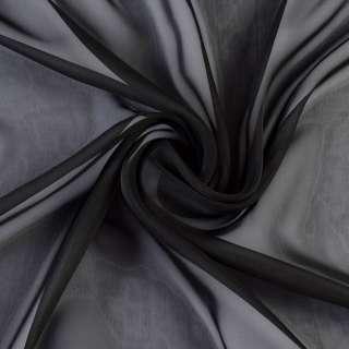 Шифон диллон черный ш.150