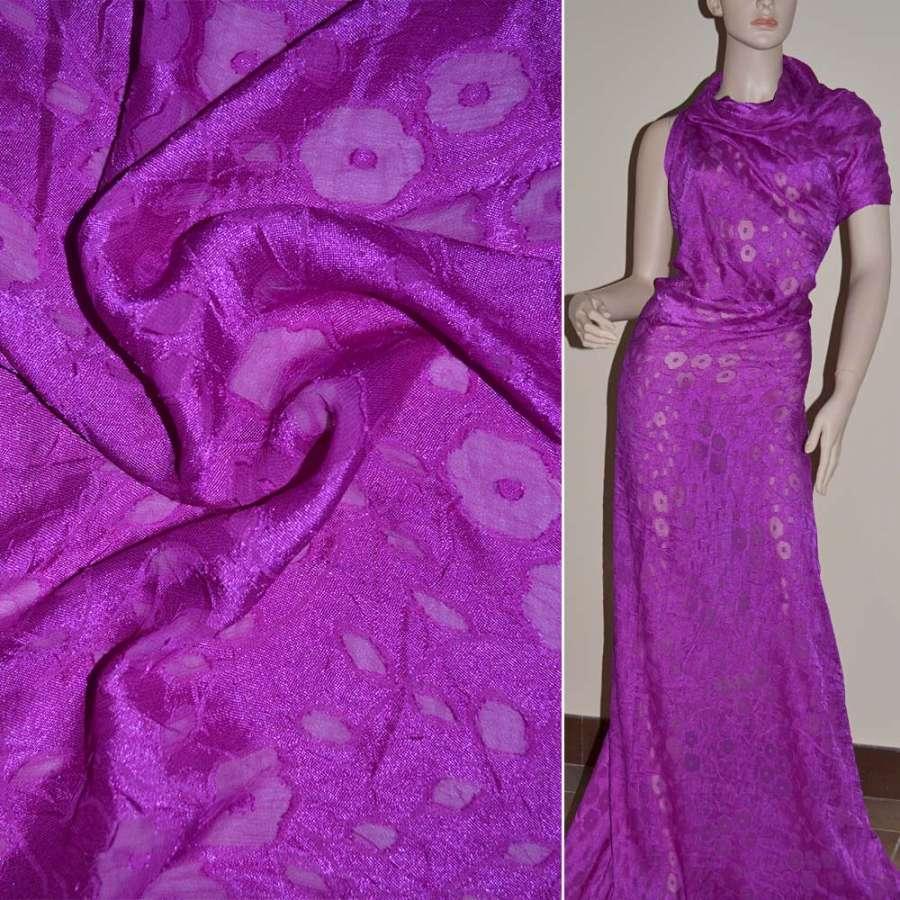Деворе фиолетовое гладкокрашеное ш.140
