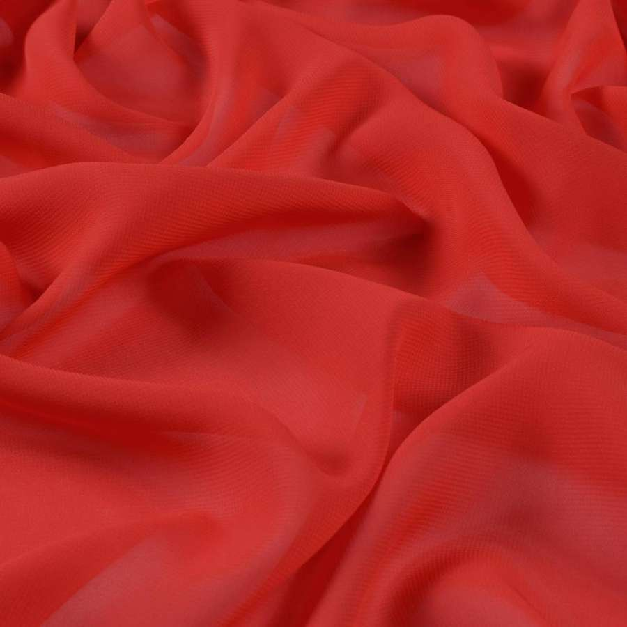 Шифон красный ш.150