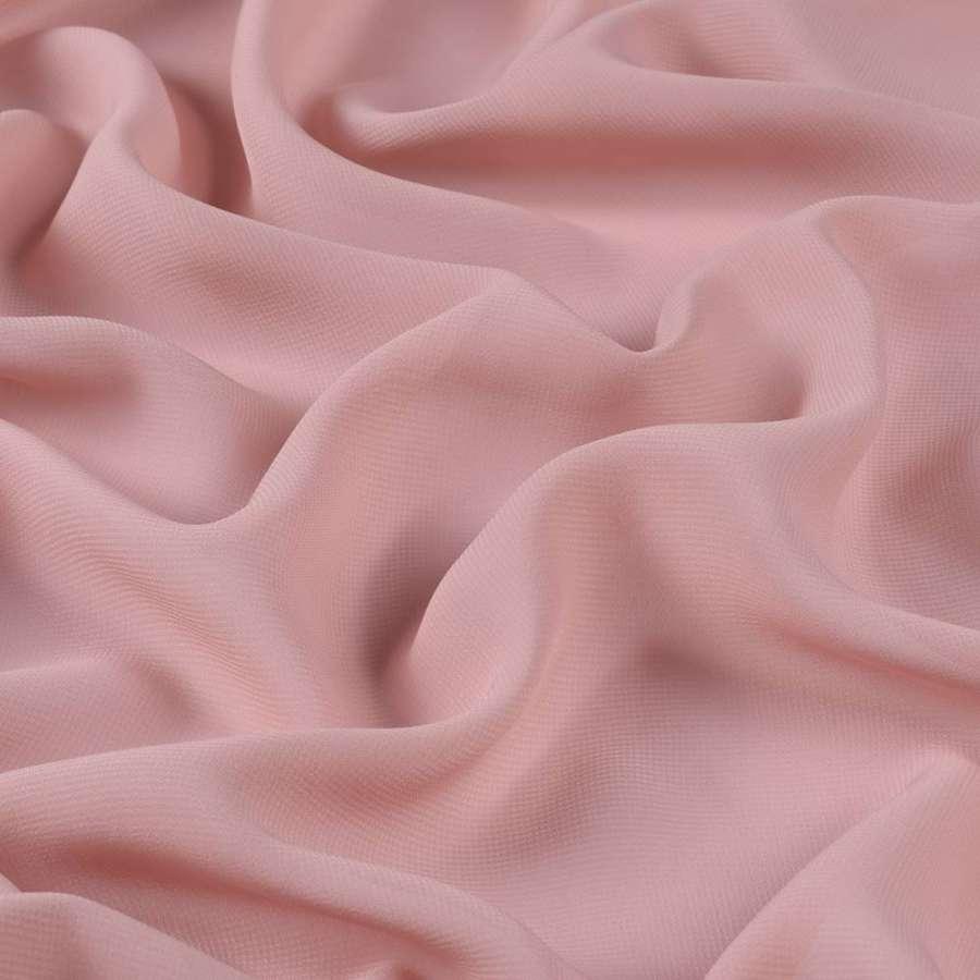 Шифон розово-серый ш.150