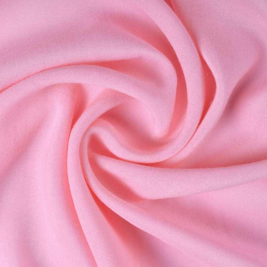 Штапель розовый ш.140