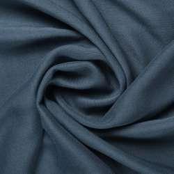 Штапель синьо-сірий ш.140