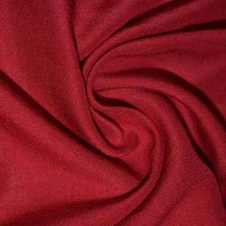 Штапель красный темный ш.140