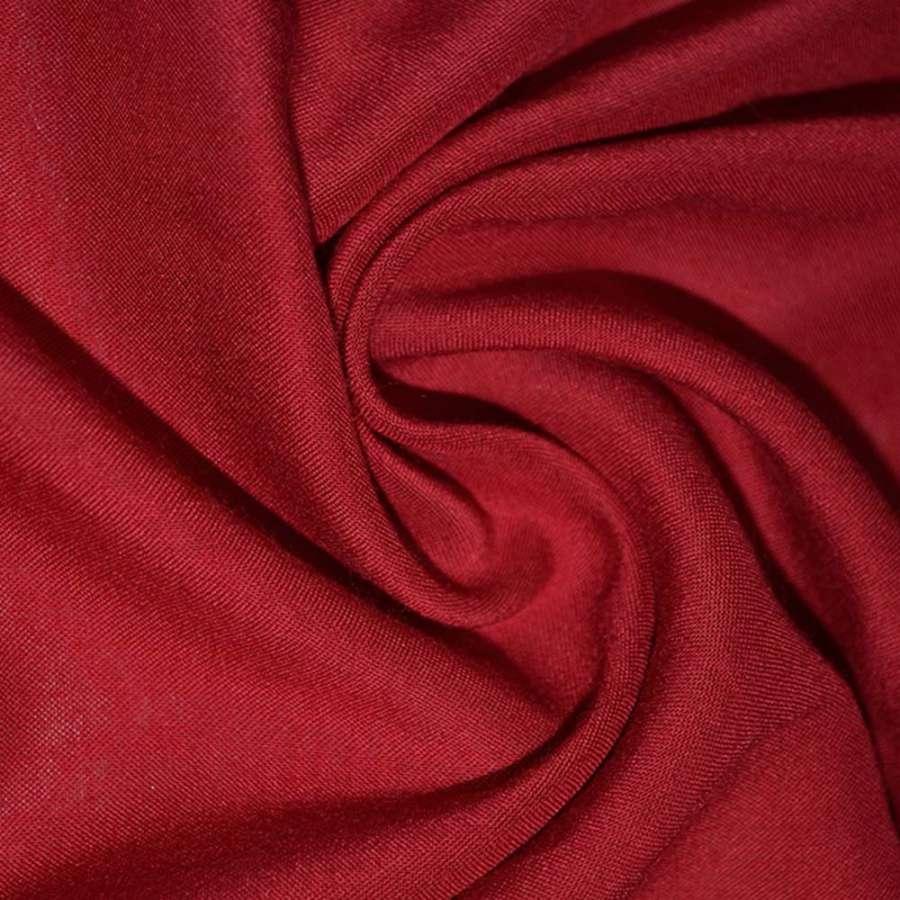 Штапель темно красный ш.140