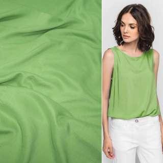 Штапель яскраво-зелений (відтінок темніше) ш.140