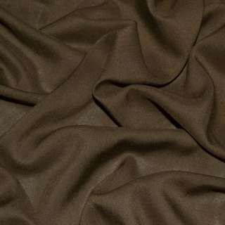 Штапель коричневий (відтінок темніше) ш.140