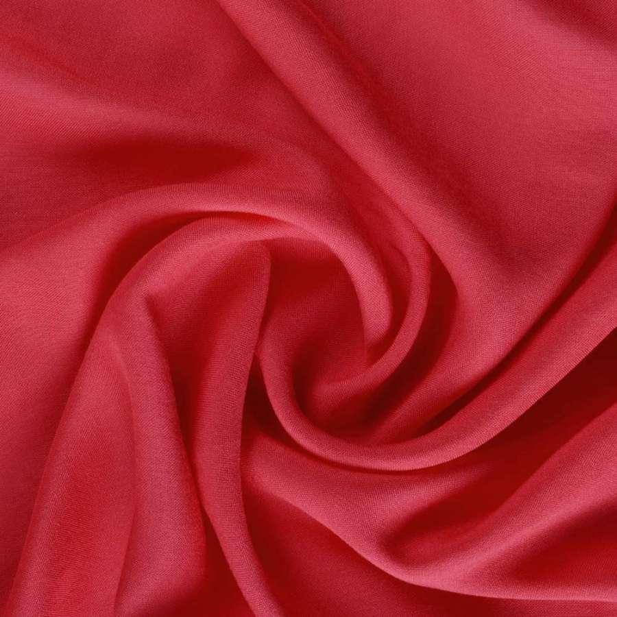 Штапель ярко-красный ш.140