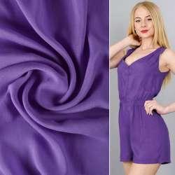 Штапель фиолетовый (темный индиго) ш.140