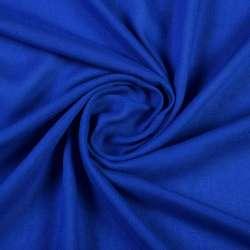 Штапель синий электрик, ш.135