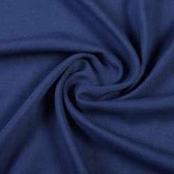 Штапель синий темный, ш.140