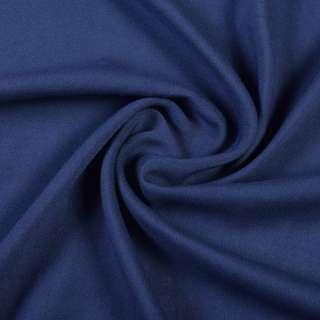 Штапель синій темний, ш.140