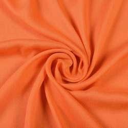Штапель оранжевый, ш.140