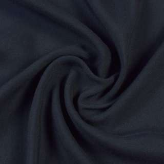 Штапель синій з чорним відтінком, ш.140