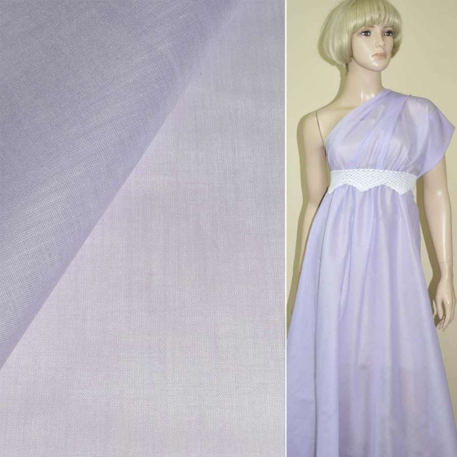 Батист фиолетовый светлый ш.136
