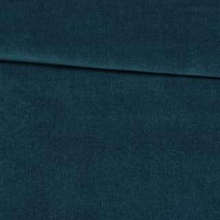 Микровельвет стрейч бирюзовый темный ш.140
